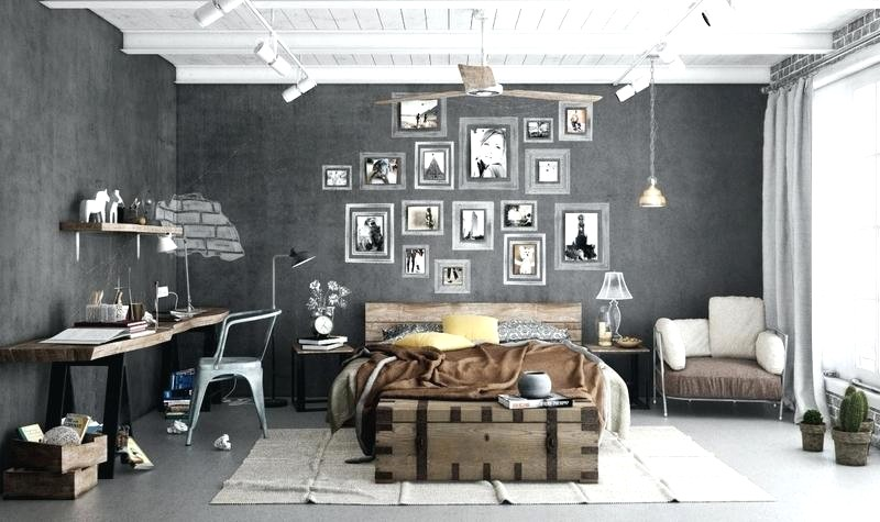 d coration murale industrielle nos conseils. Black Bedroom Furniture Sets. Home Design Ideas